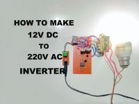 12v to 220v inverter circuit