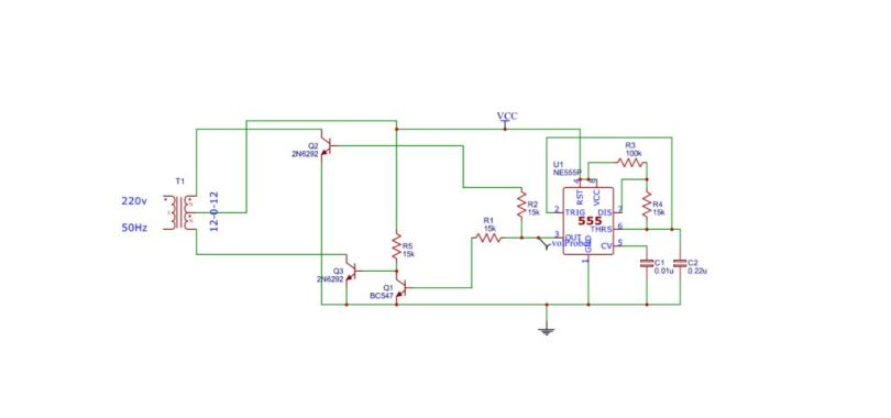Circuit Diagram Inverter | How To Make 12v To 220v Inverter Circuit Electronics Projects Hub