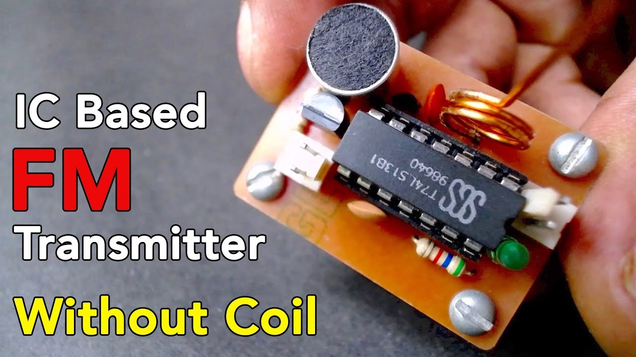 How To Make Fm Transmitter Easily Electronics Projects Hub F M Circuit Diagram