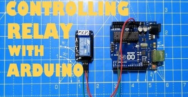 Control Relay Module with Arduino