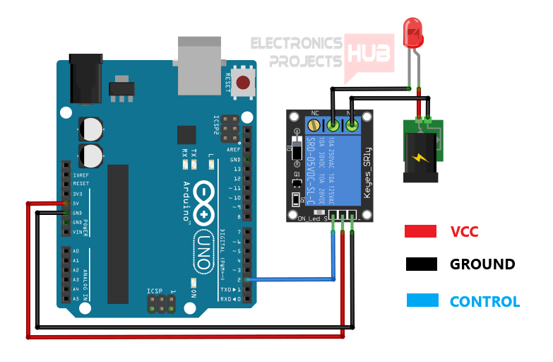 How To Use A Relay With Arduino