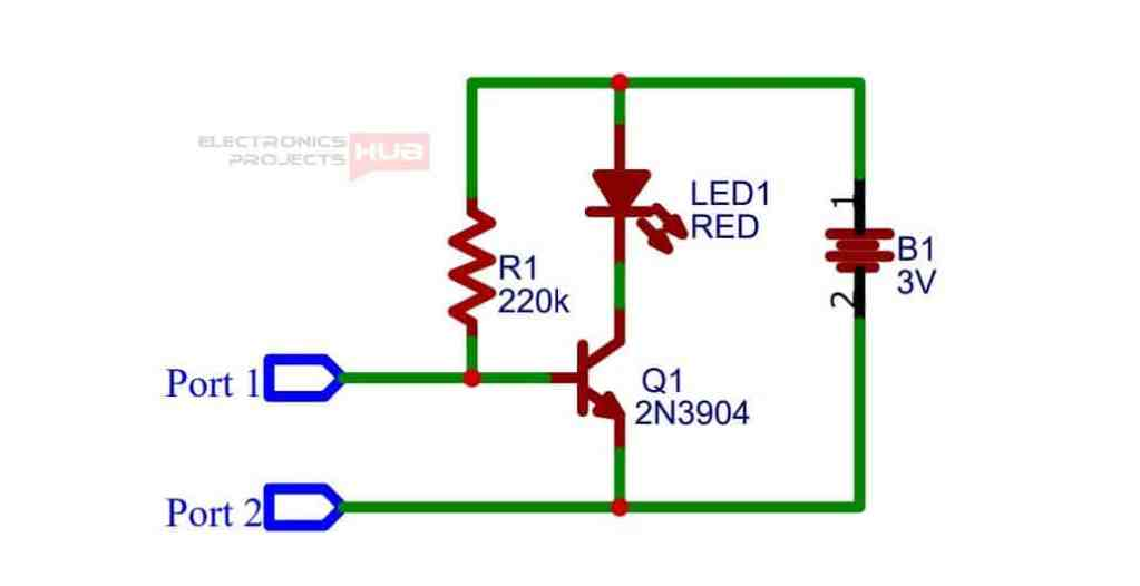 Plant Watering Indicator Circuit