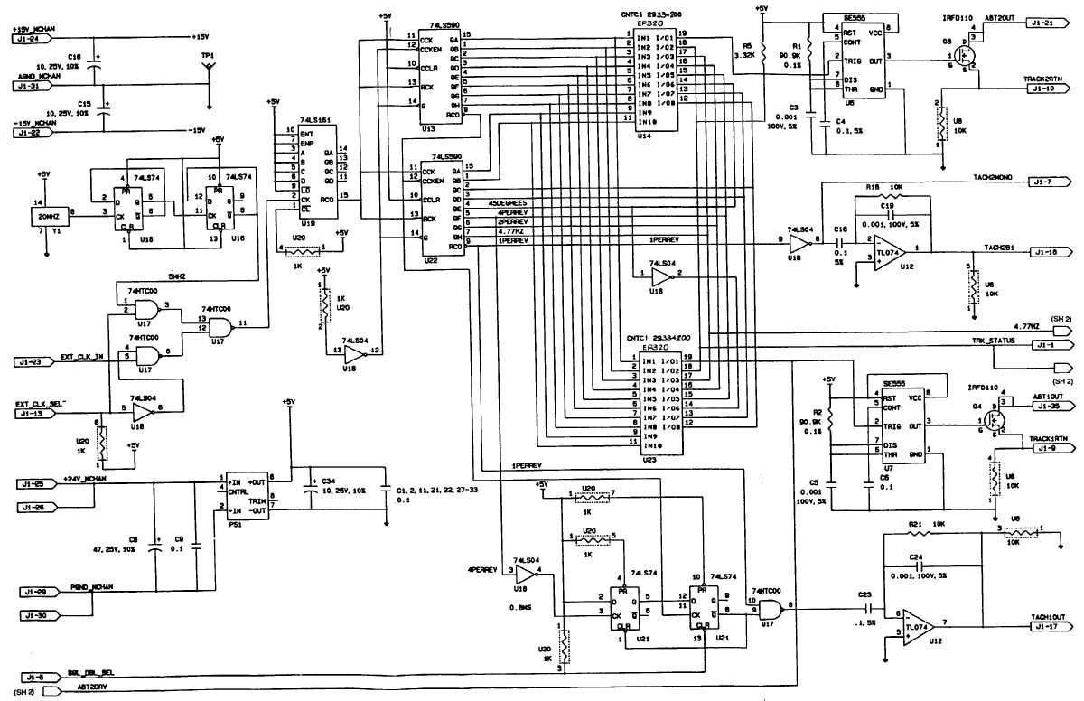Frequency Counter Circuits Schematics