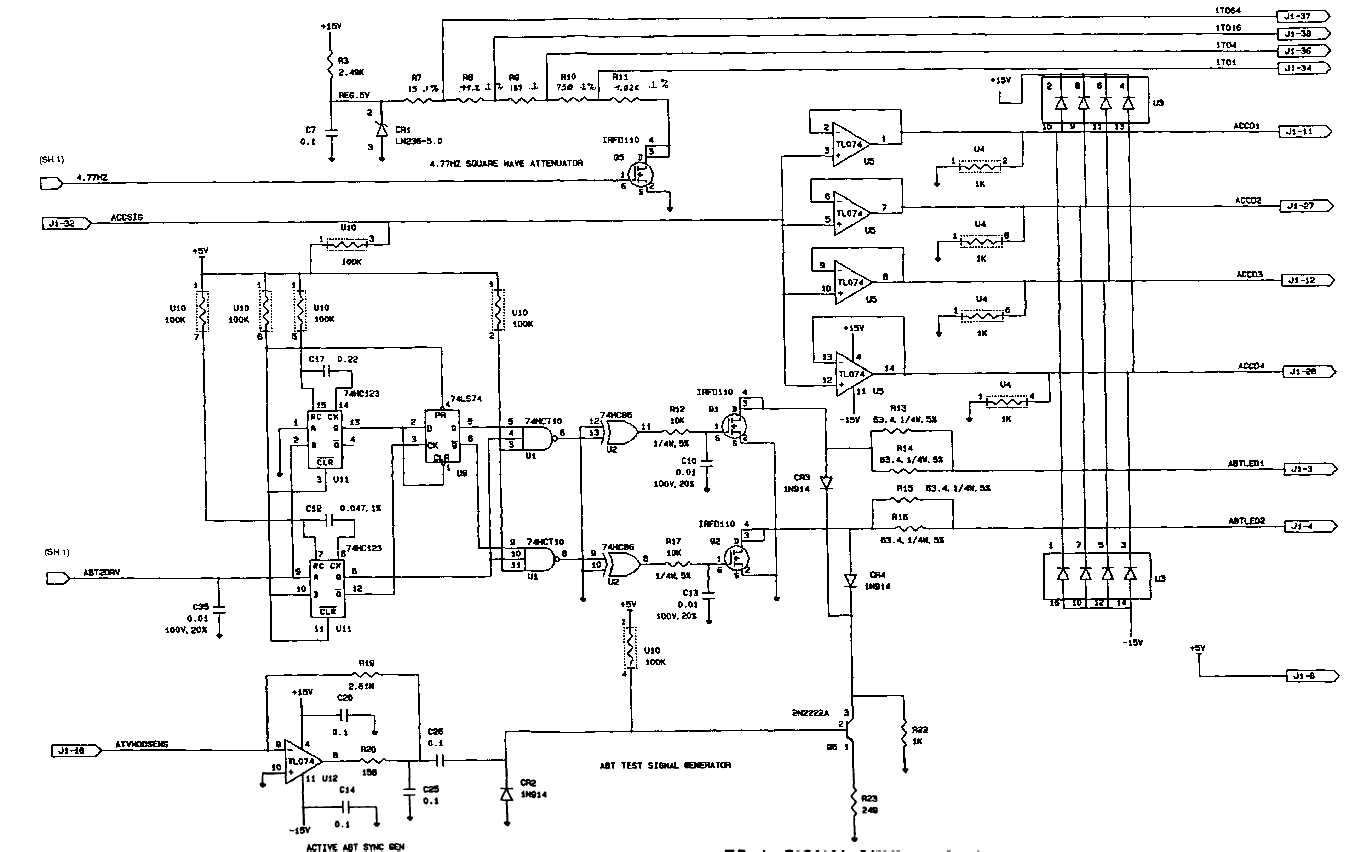 Fo 1 Signal Generator Schematic Diagram Sheet 2 Of 4