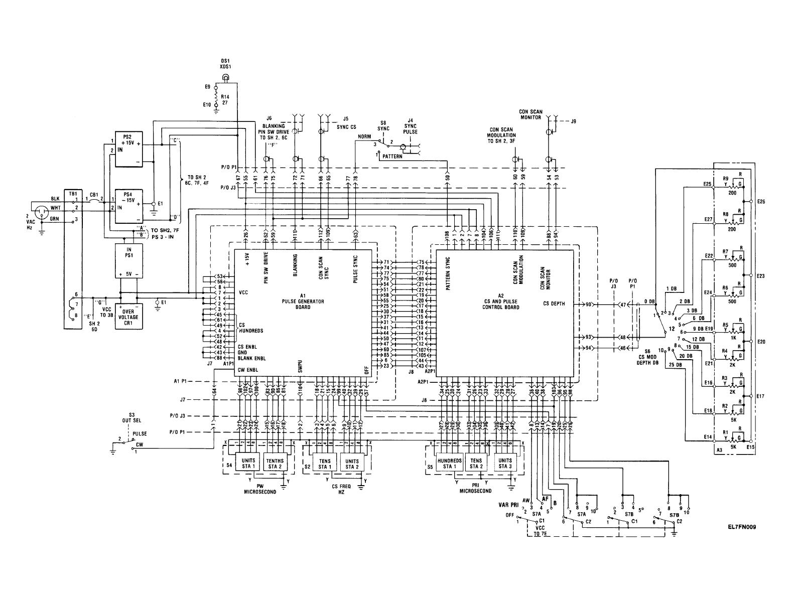 Figure Fo 9 Rf Modulation Assembly 1a3 1a4 Schematic