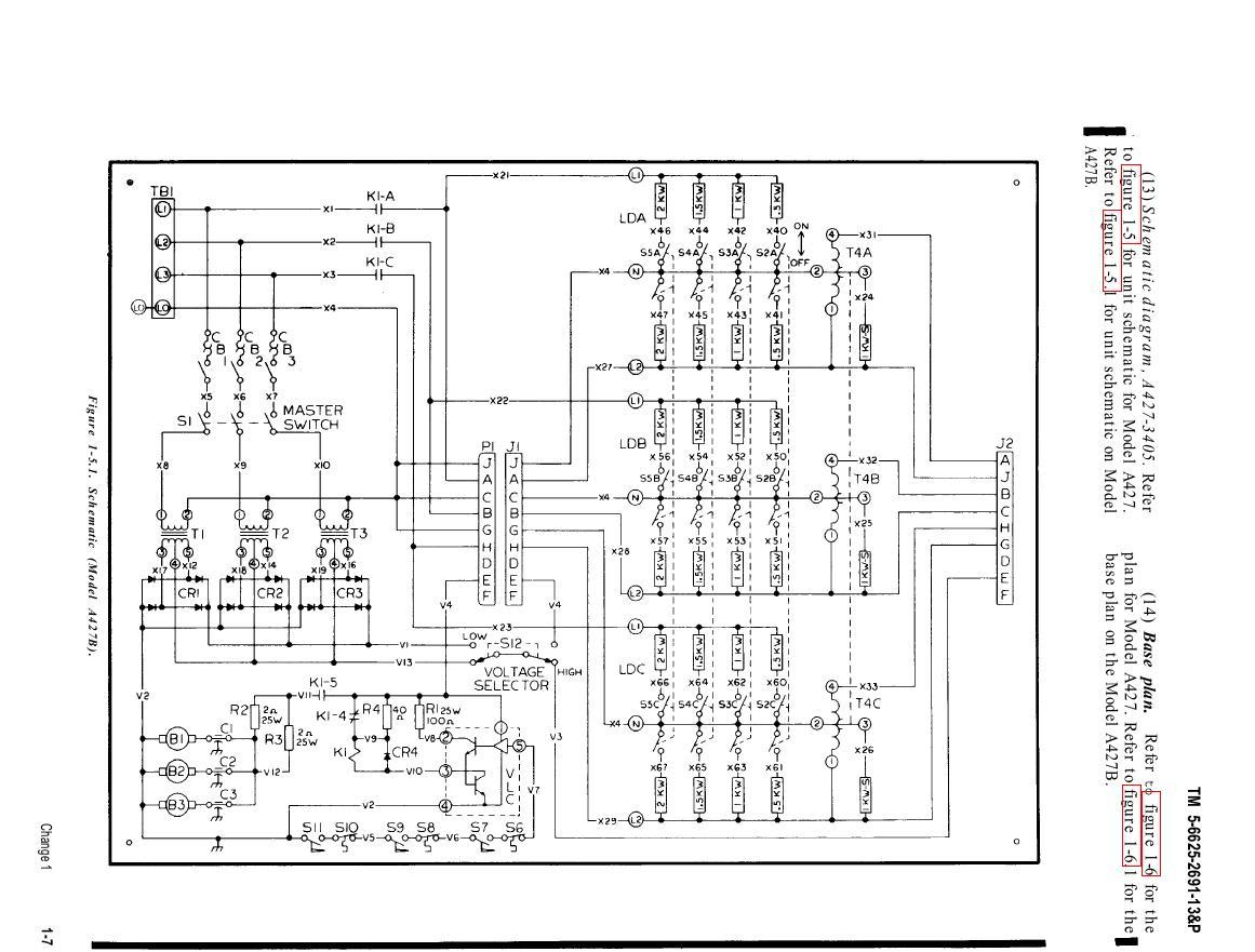 Figure 1 5 1 Schematic Model A427b
