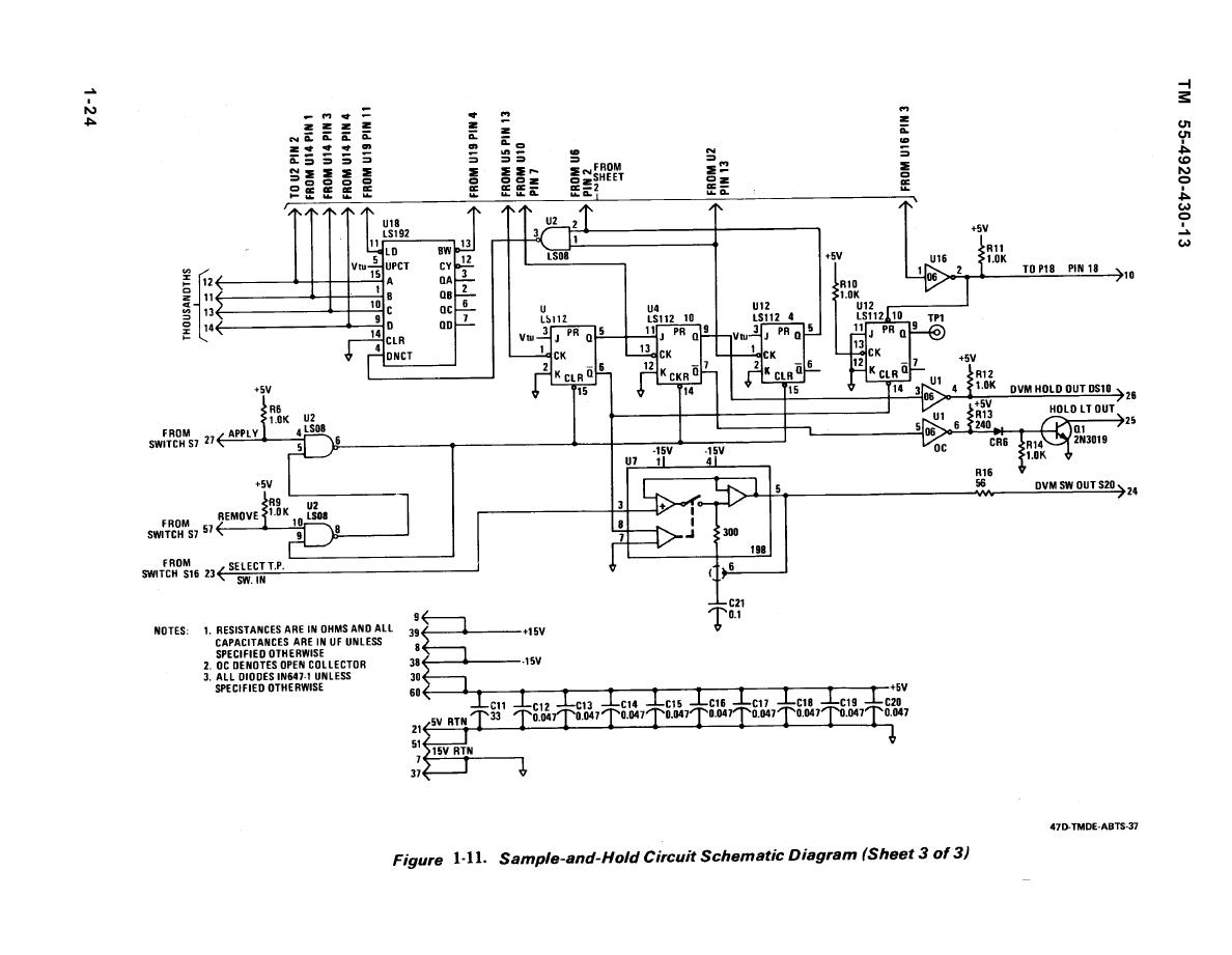 Figure 1 11 Sample And Hold Circuit Schematic Diagram