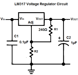 LM317-circuit-setup
