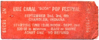 Soda Pop Festival Ticket
