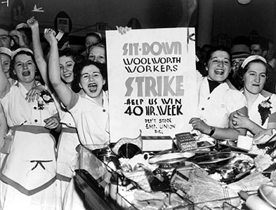 Woolworth Strikers, 1937