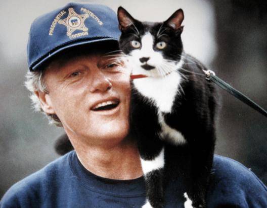 Clinton & Socks