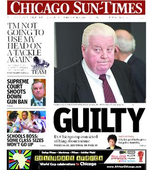 Chicago Sun-Times Cover