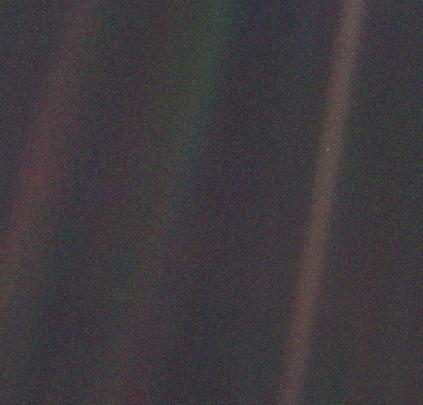 """NASA/""""Pale Blue Dot"""""""
