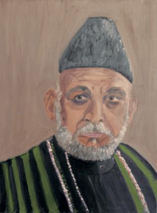 Karzai by Bush