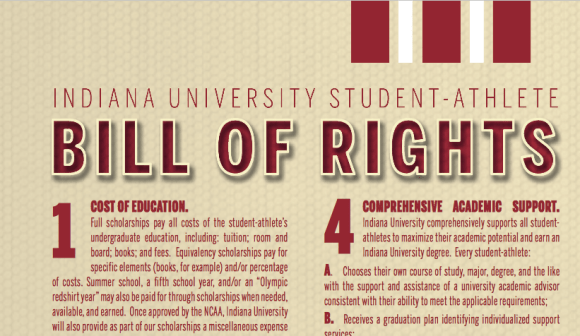 IU Athletics Bill of Rights