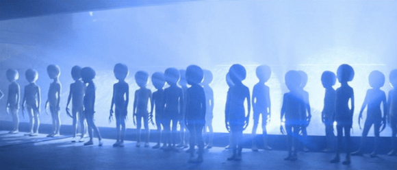 "From ""Close Encounters of the Third Kind"""