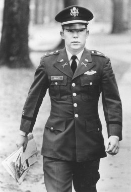 Lt. William Calley arrives for his court martial in 1971 at Fort Benning, Georgia. (Columbus Ledger-Enquirer/MCT)