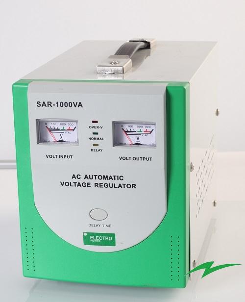 stabilizator tensiune SAR-1000va front