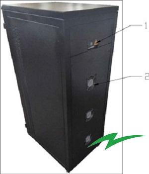 Stabilizator tensiune servomotor Electropower EP-TNS-45kVA-(36000W)-400V back