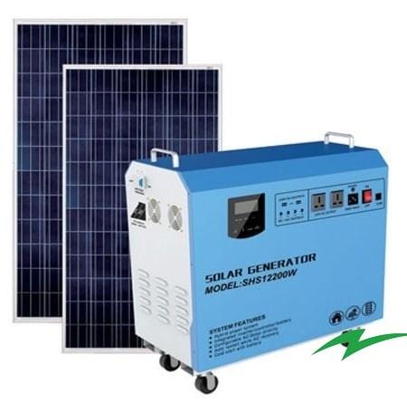 Sistem generator solar 800W