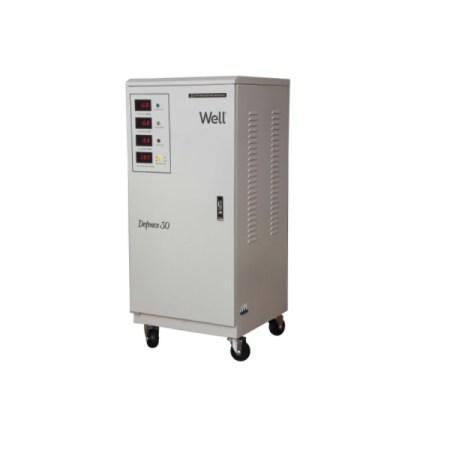 Stabilizator de tensiune WELL trifazat 30kVA 24kW