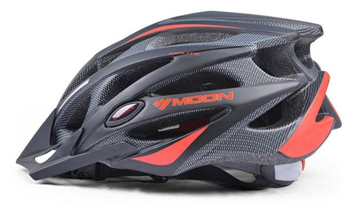 Велосипедный шлем для шоссе и МТБ с отстегивающимся козырьком