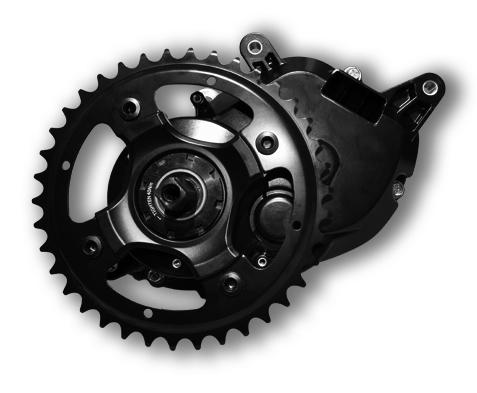 Panasonic Center Motor GX Power кареточный электромотор для велосипеда