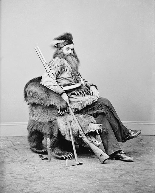 портрет охотника