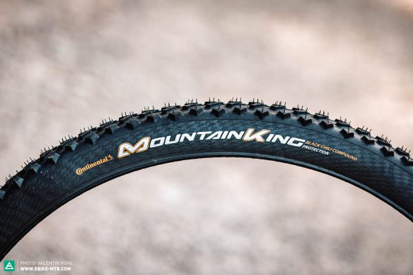 Continental Mountain King покрышки велопокрышки тест электровелосипед велосипед