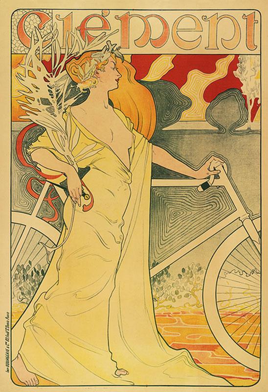 модерн постер велосипед ретро