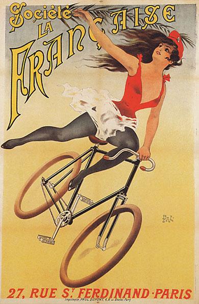 постер велосипед