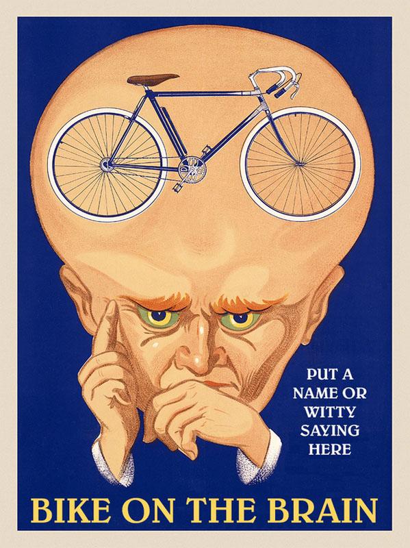 постер велосипеды реклама