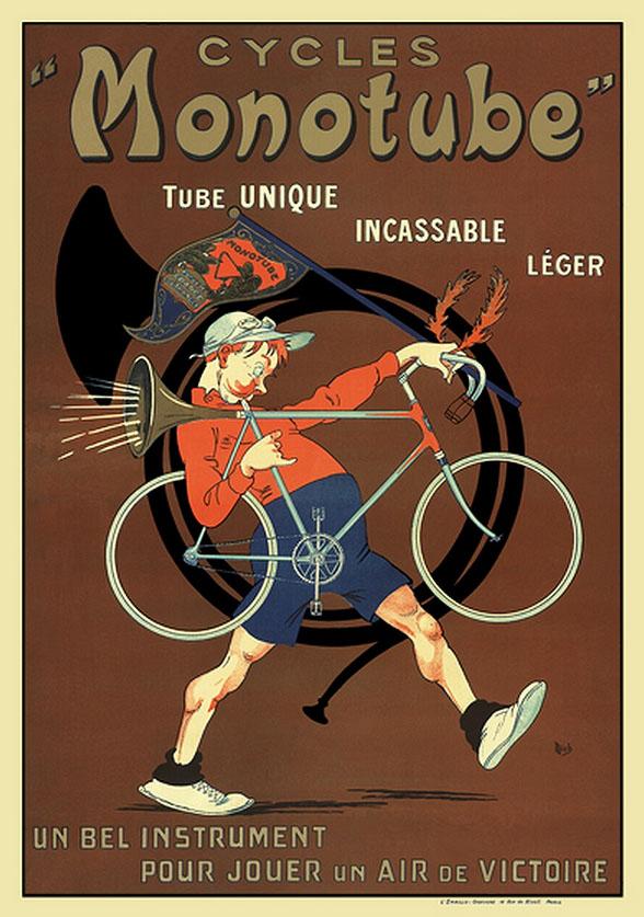 реклама велосипеды постер