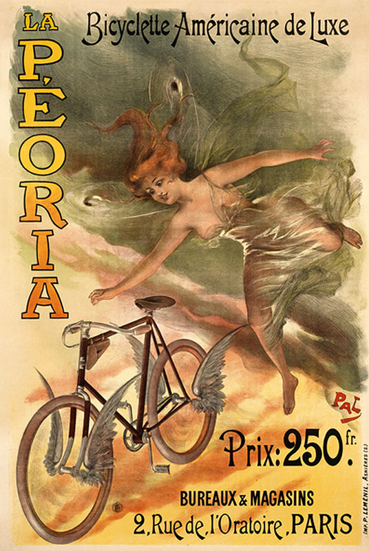 ретрореклама велосипедов