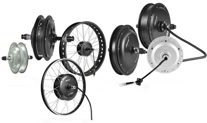 Мотор-колесо. Обзор моделей MXUS.