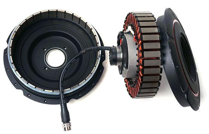 директ-драйв мотор-колесо Direct-Drive Hub Motor