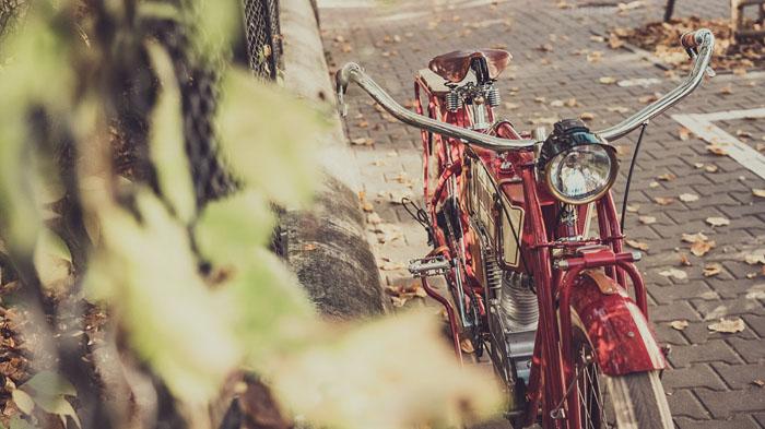 kosynier e-bike, электровелосипед ретро