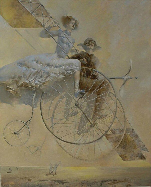живопись велоарт