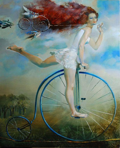 амулет велосипед