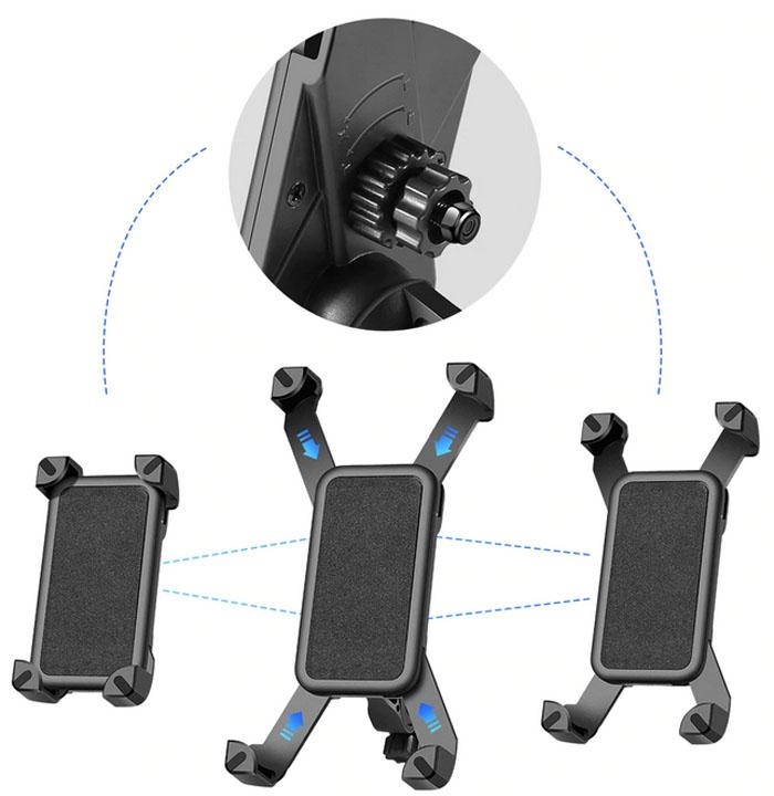 пластиковый держатель телефона велосипедный