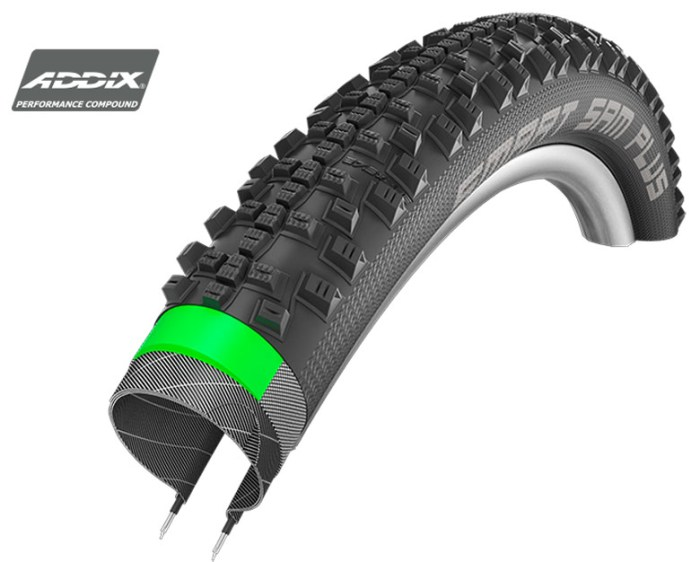 покрышка для электровелосипеда schwalbe smart sam plus