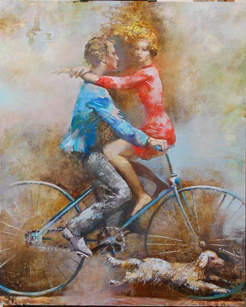 велосипед  любовь