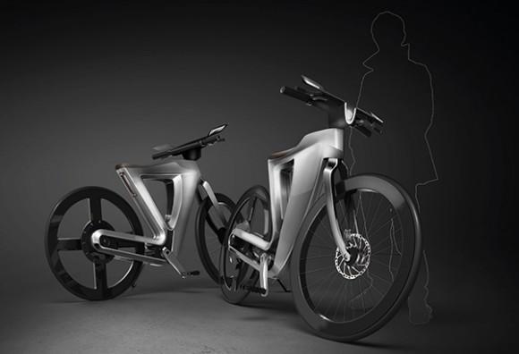 Концепт электровелосипеда Bike13