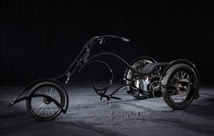 электромотоцикл Solar E-Trike