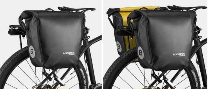 ROCKBROS велосипедная сумка водонепроницаемая 10-18л