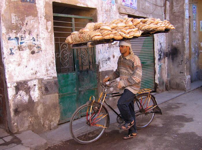 курьерская доставка еды на велосипеде