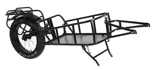 велоприцеп QuietKat Cargo Trailer – Single Wheel
