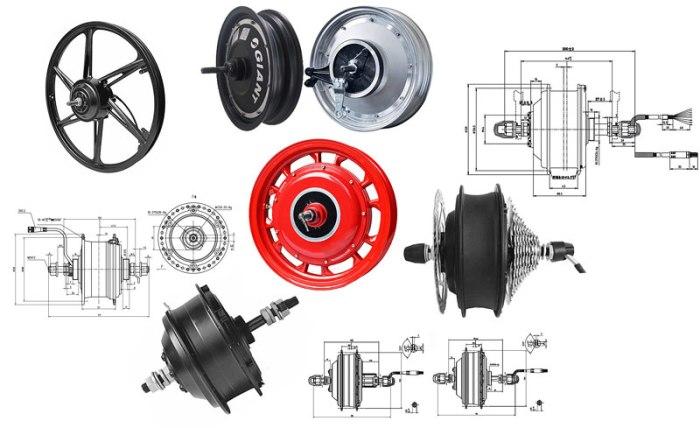 Мотор-колеса Shengyi