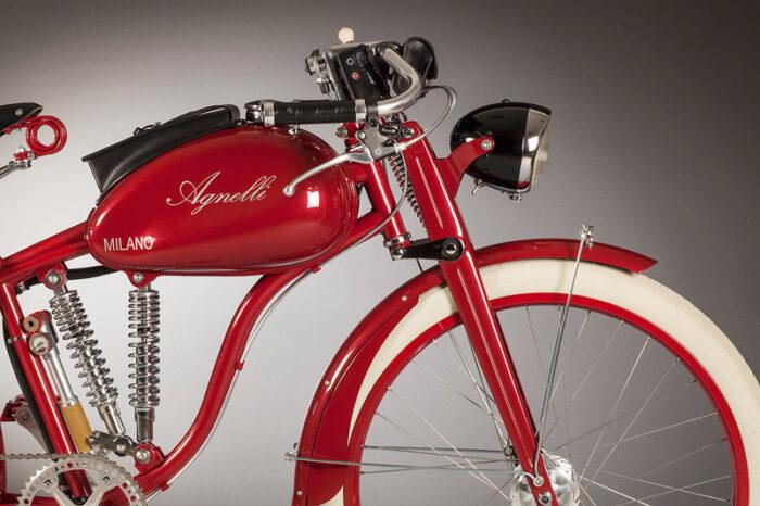 Agnelli Milano Bici передняя часть электровелосипеда