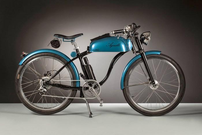 Электровелосипед в ретро-стиле Agnelli Milano Bici
